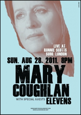 Mary Coughlan w. Elevens Poster (Ronnie Scotts)