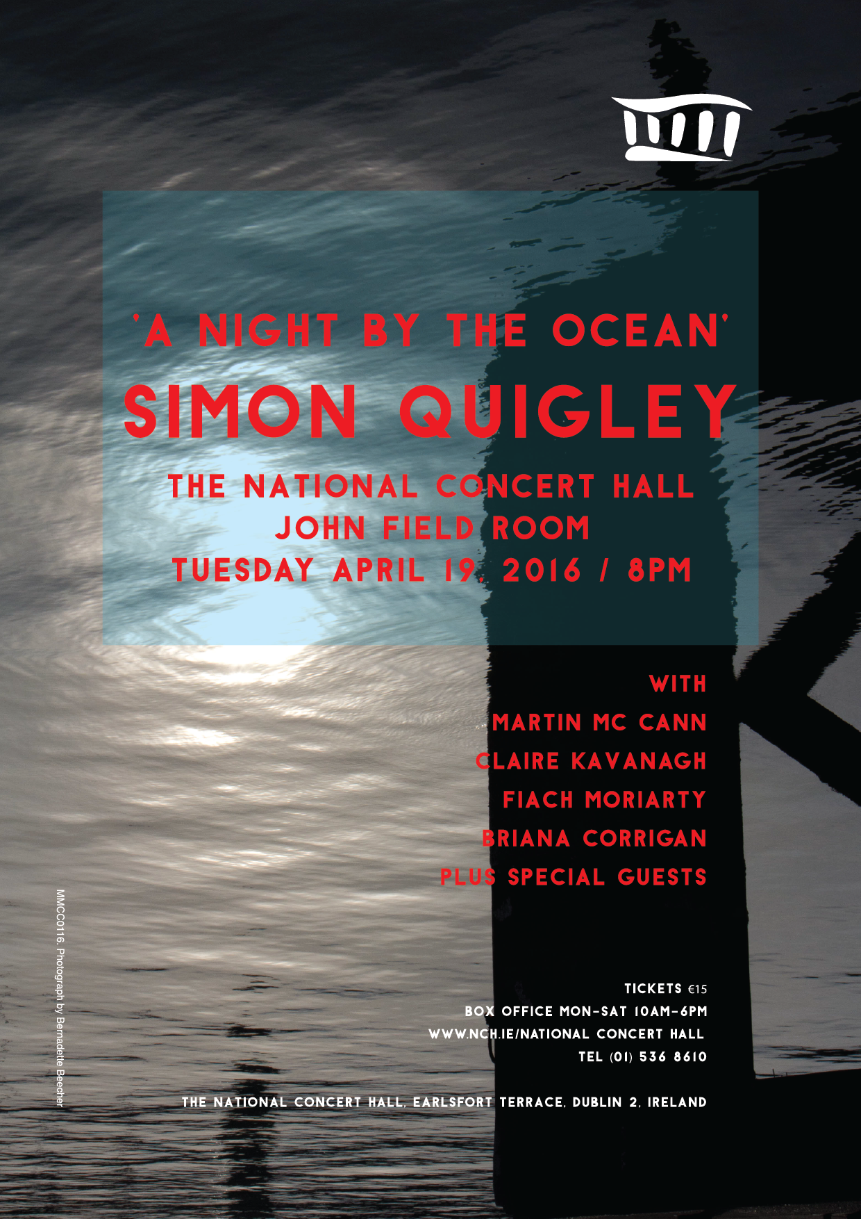 'A Night By The Ocean' Poster