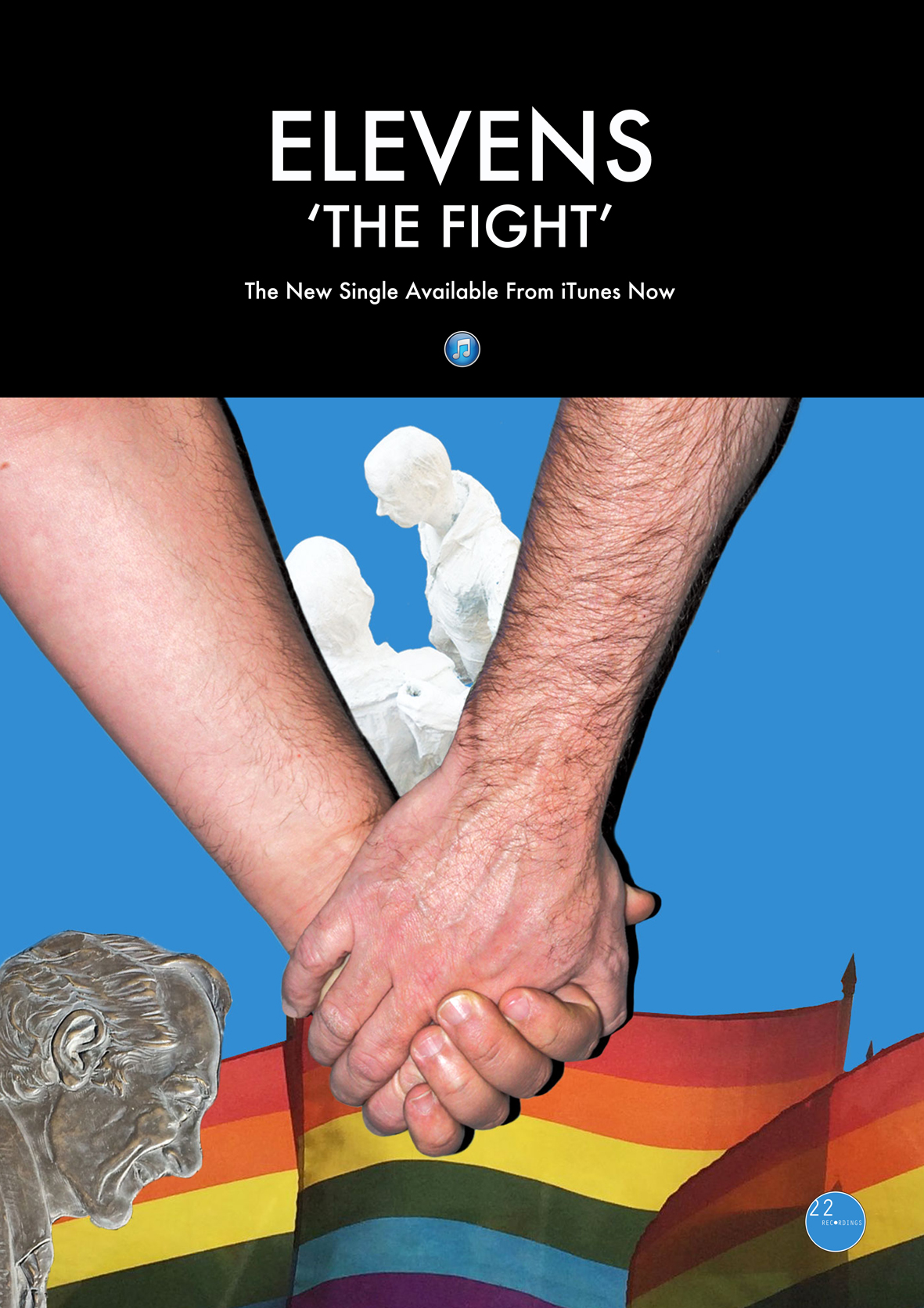 'The Fight' Single Release Poster